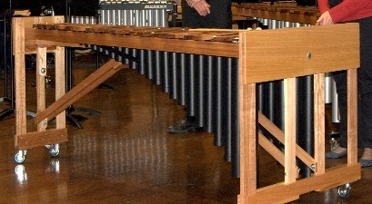 Finished custom built marimba