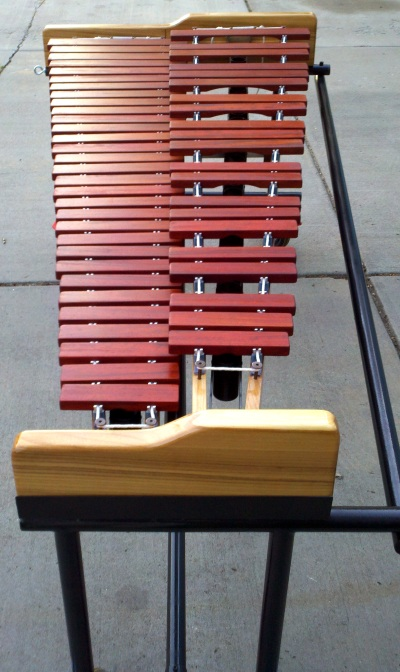DIY marimba with Field frame