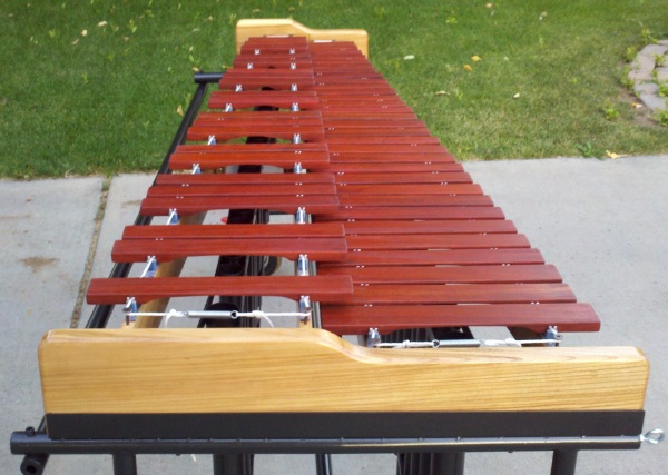 DIY marimba for High School