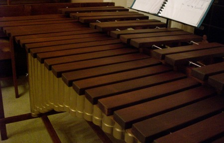 DIY P3 marimba built right from the plans