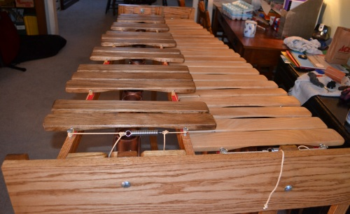 P3 marimba right from building guide