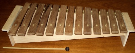 making your own xylophone