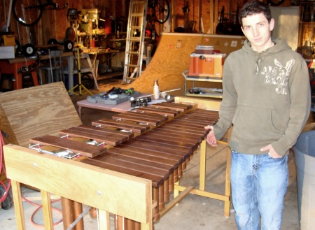 Stock P3 marimba build