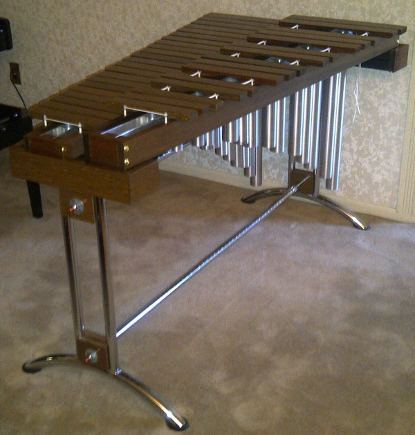 Make A Marimba 60 S Style Metal Frame P3 Marimba