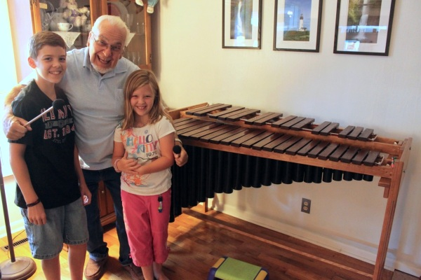 family built marimba