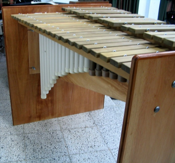 Solid frame for DIY marimba
