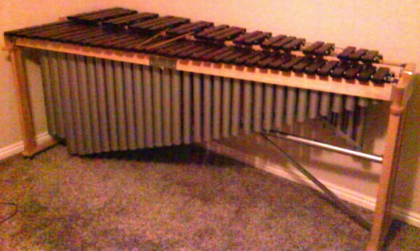 five octave marimba built for portability