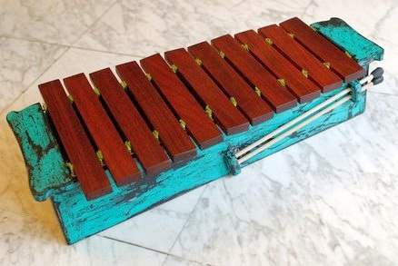 DIY Xylophone gift for small boy